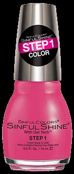 SinfulColors:Pink Pintura Nail Polish