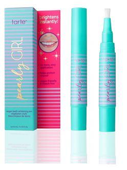Tarte's Pearly Girl Vegan Teeth Whitening Pen  $22  @ Sephora.com