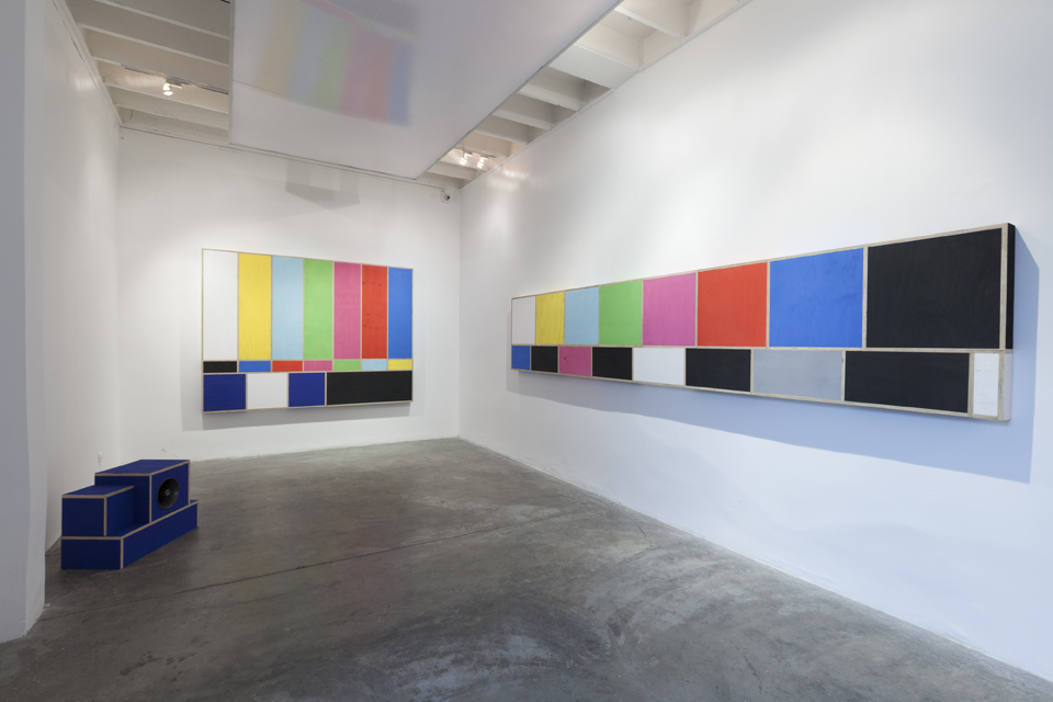Test Patterns  installation view at Revolver Galeria, 2015.