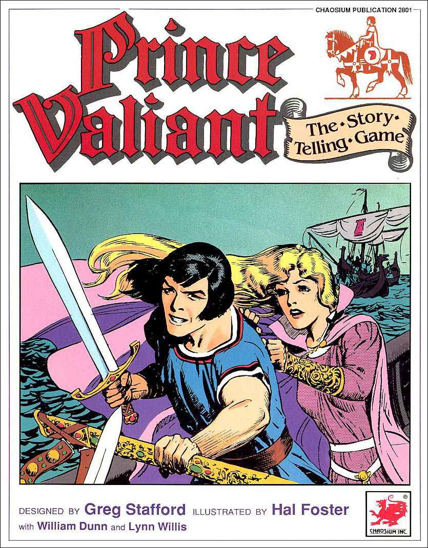 Prince Valiant, 1989. Click to enlarge.
