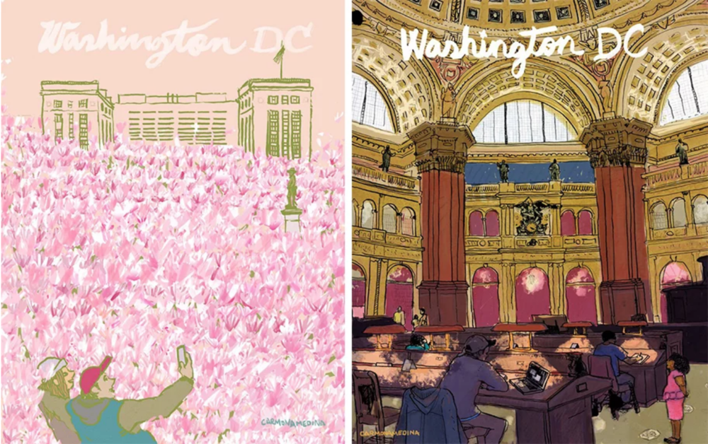 You'll Love Local Artist Carlos Carmonamedina's Illustrations Capturing Everyday Life in DC