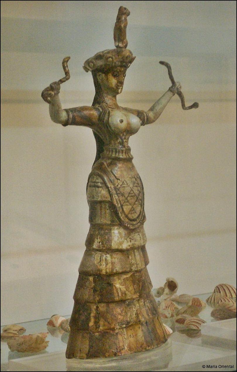 Egen bild tagen på Knossos museum.