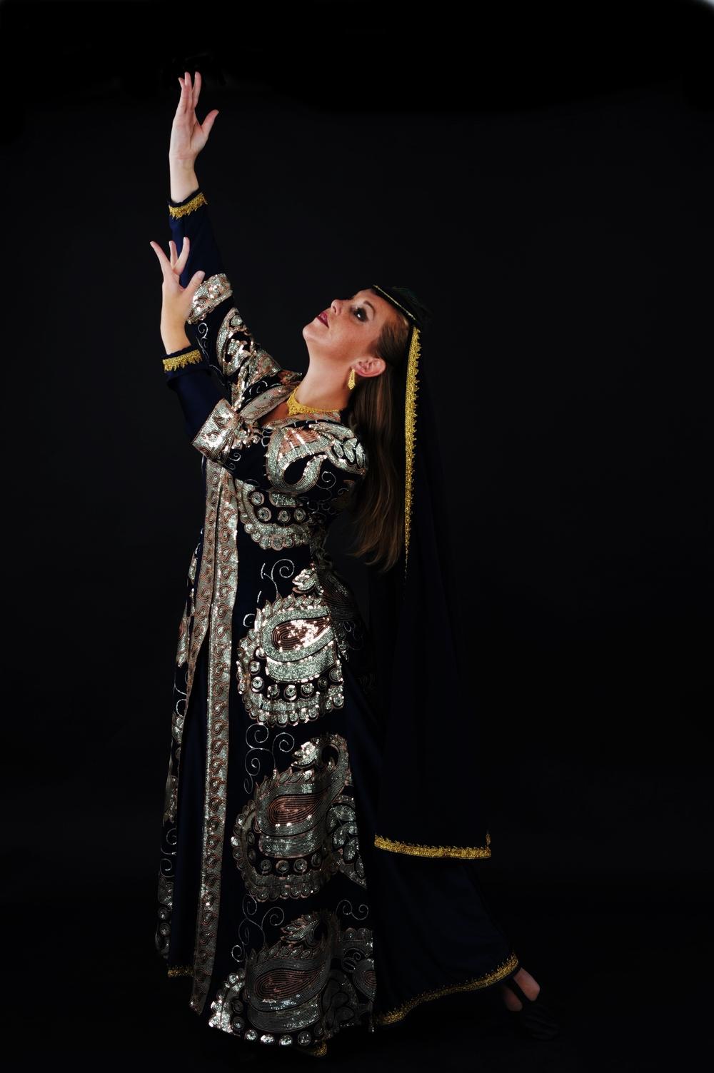 Maria Oriental - Persian Classical Dance. Photo: Lars Uddén, Swefoto AB