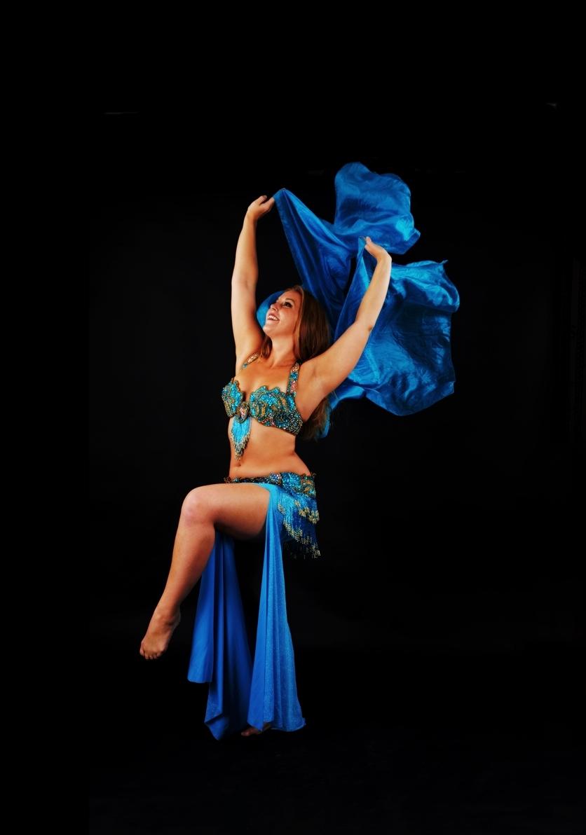 Maria Oriental - Belly Dance. Photo: Lars Uddén, Swefoto AB