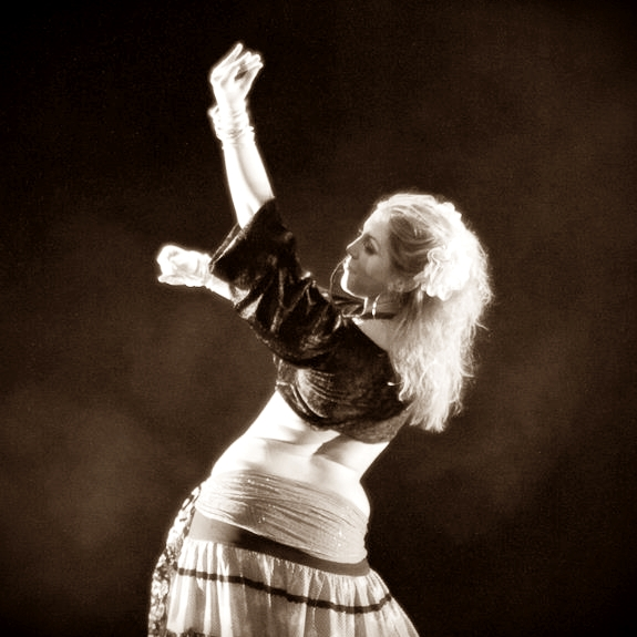 Maria Oriental - Gypsy Fusion at Layali's Gala Show. Stockholm, February 2012. Photo: Nima Dervish.