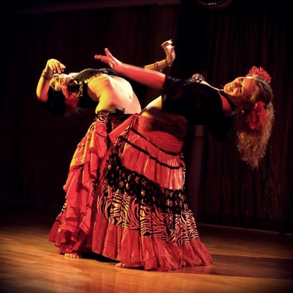 Maria Oriental - Gypsy Fusion at Hafla Layali. Stockholm, October 2011. Photo: Eva Brännström.