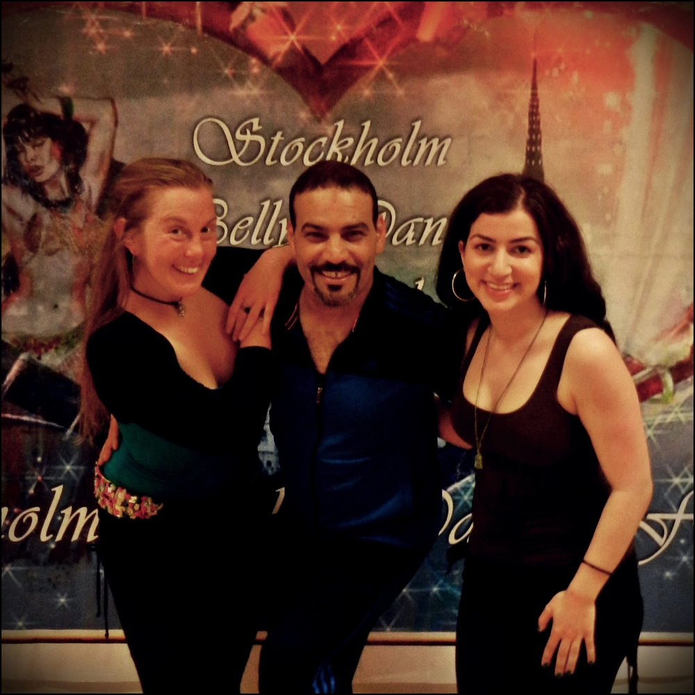 Maria Oriental - Blog - Maria Oriental, Elnaz Dance, Tito Seif, Stockholm Belly Dance Festival 2015.