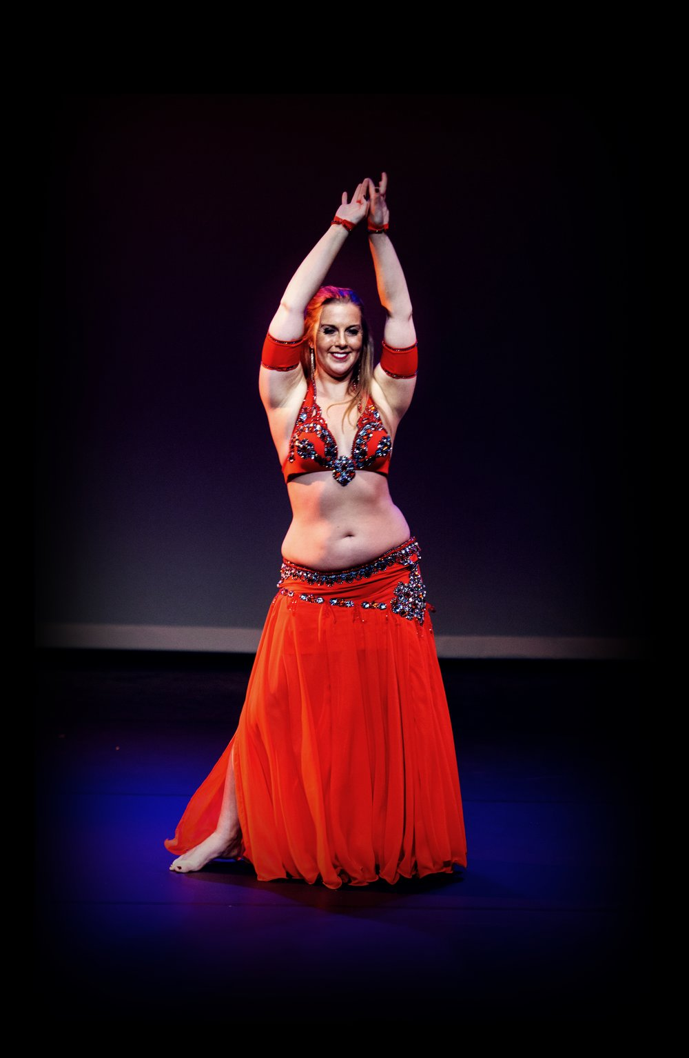 Maria Oriental - Belly Dance at 1001 Moves in Enschede, Holland. June 2016.  Photo: Rob Elsjan