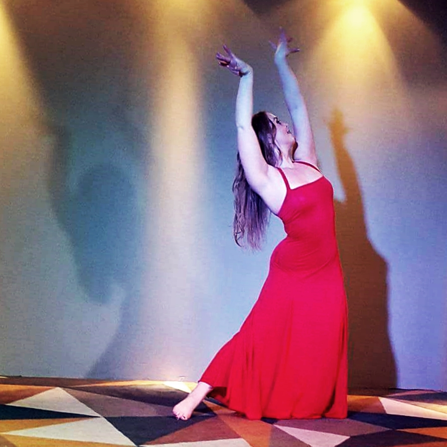 Maria Oriental - Persian Contemporary Dance at Unik, Luleå. April 2016.