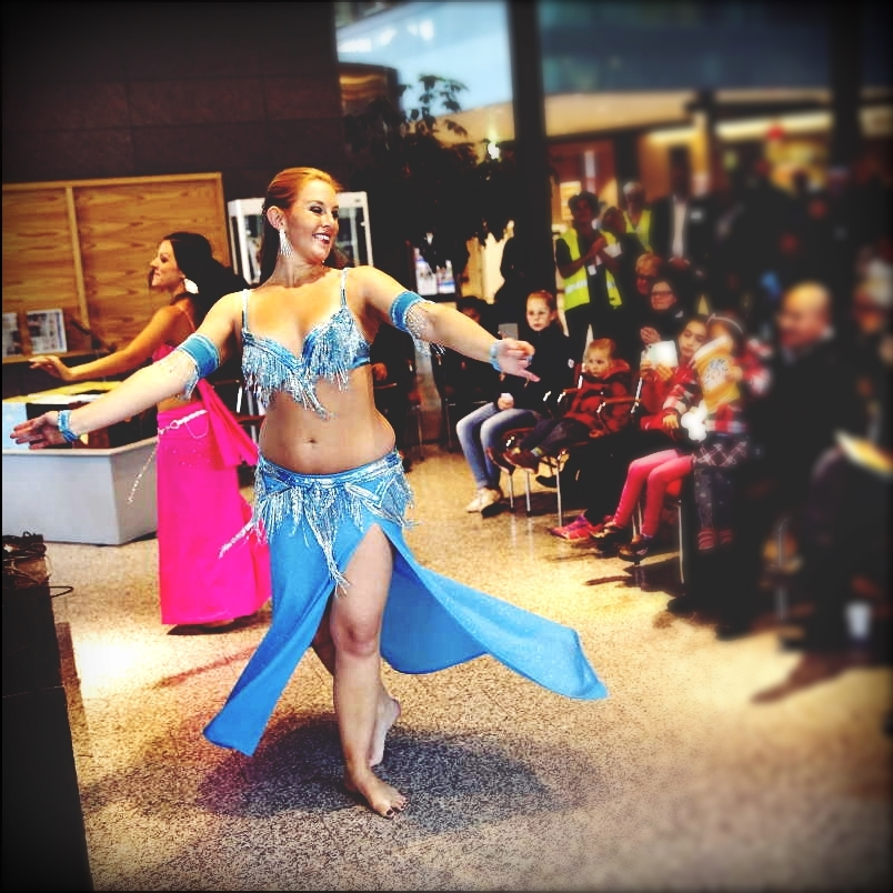 Maria Oriental - Belly Dance at cultural event. Södertälje, October 2016.