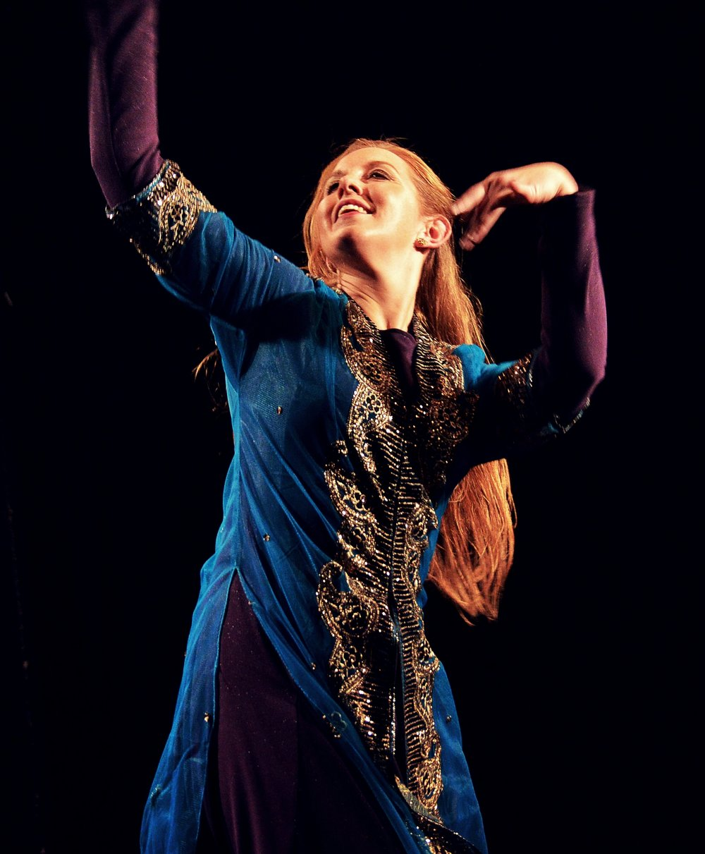 Maria Oriental - Persian Dance at Danskollektivet. Stockholm, November 2015.  Photo: Leo Sutic