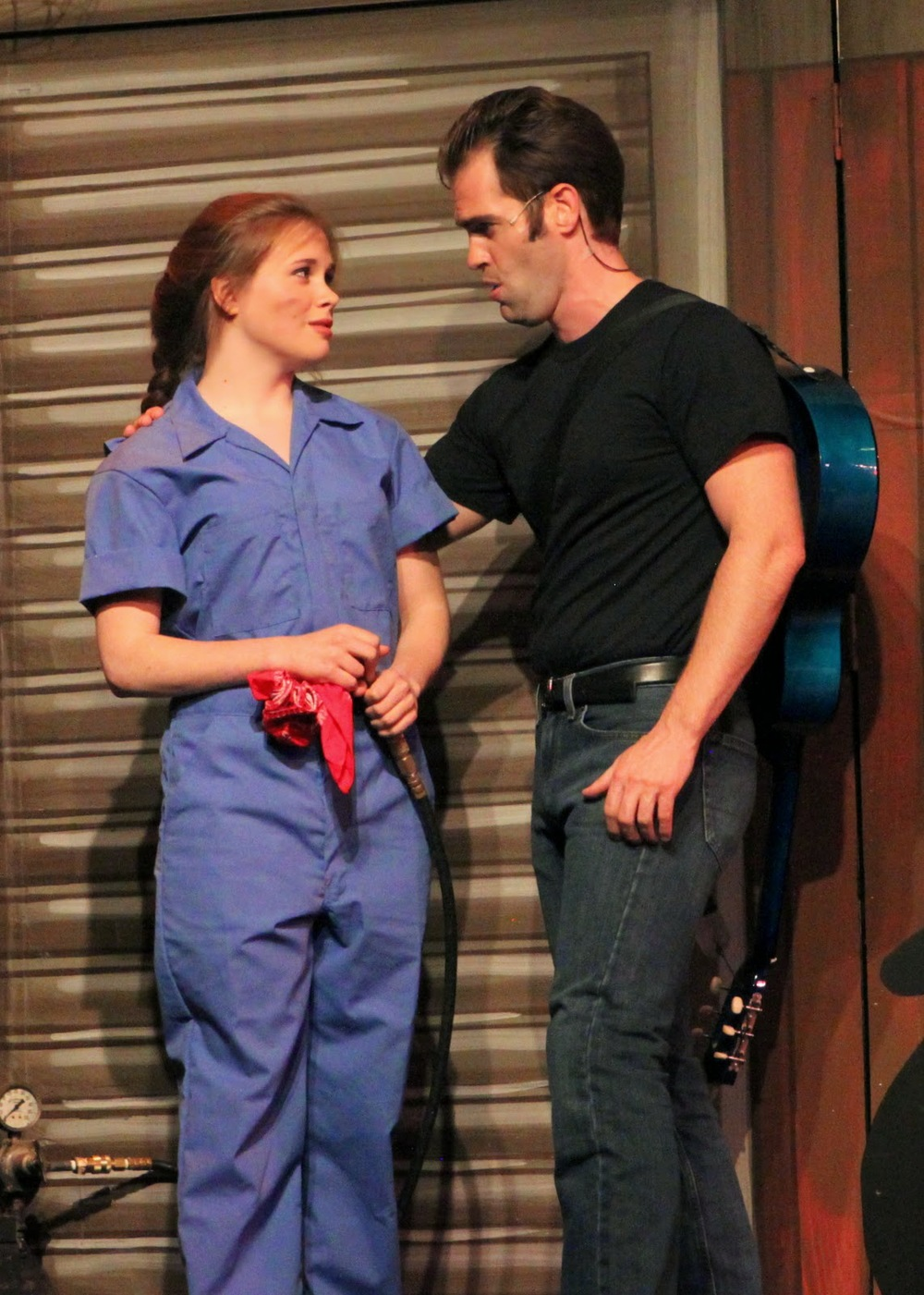 As Natalie/Ed in Ivoryton Playhouse's  All Shook Up  (2014).