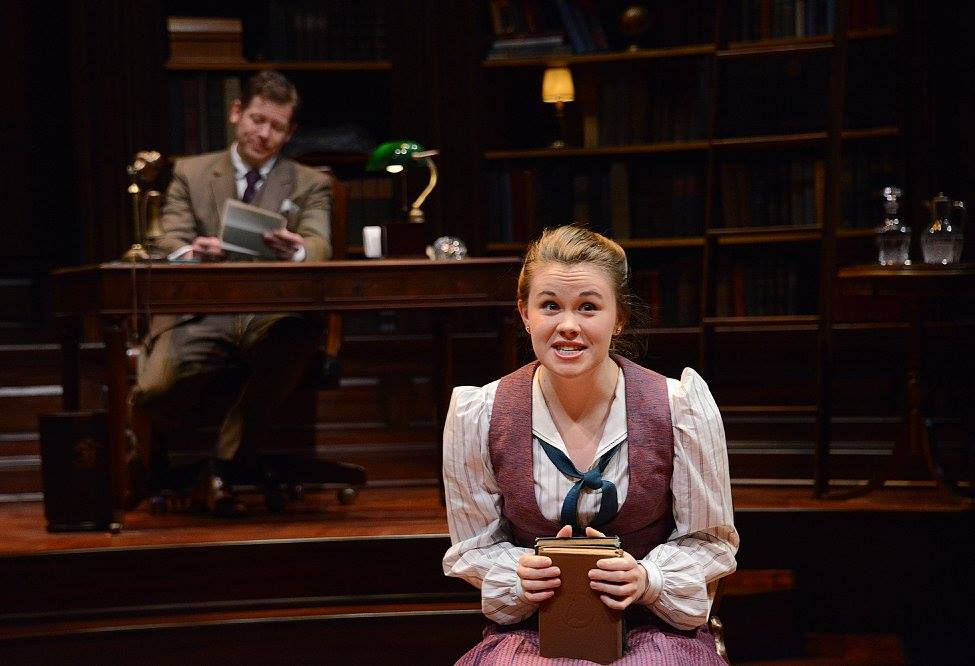 As Jerusha in  Daddy Long Legs  at Pittsburgh Public Theatre (2017)