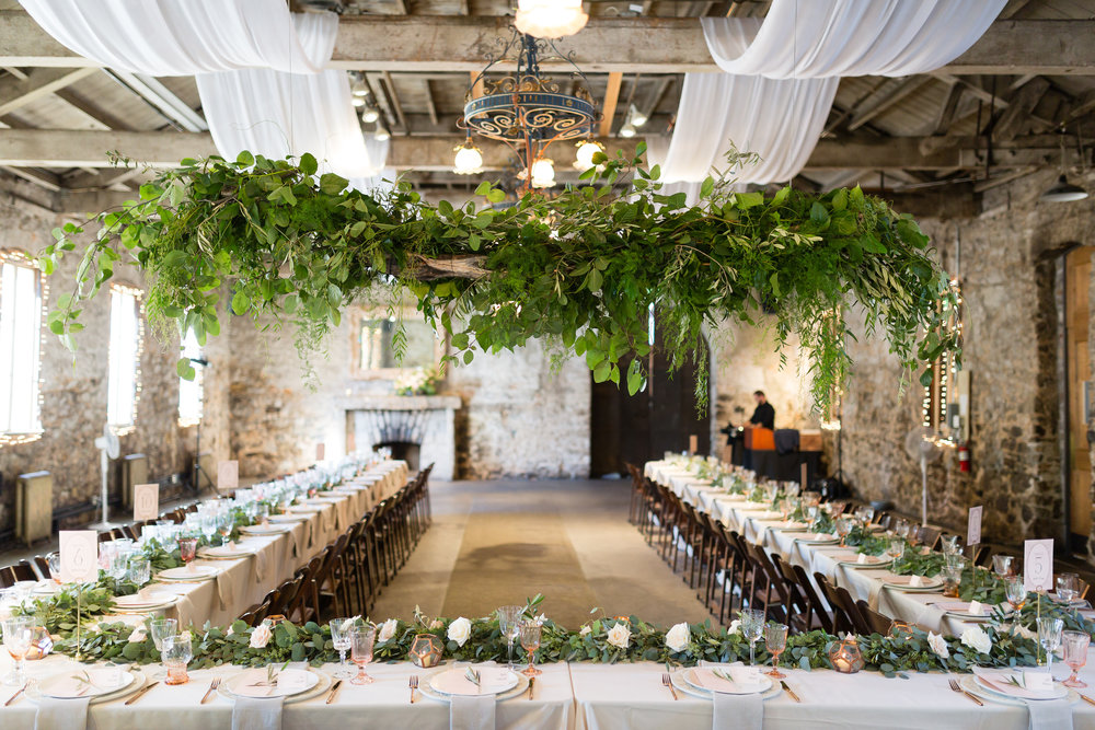 Miners Foundry wedding with Farm to Table Catering