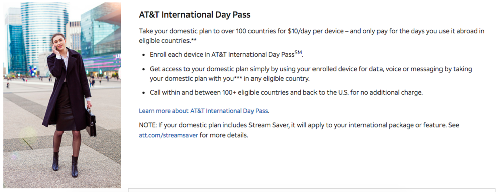 At&t's International Day Pass is a wonderful thing!  $10/day to mirror the plan you have in the States.  We use this on days we are doing a lot of driving so we can use the map app on our phone.