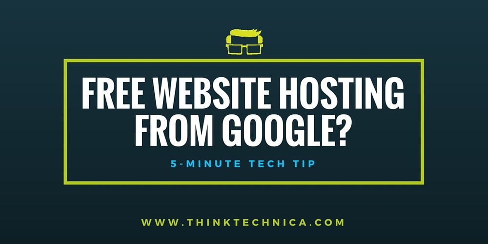 How to Get Free Web Hosting From Google