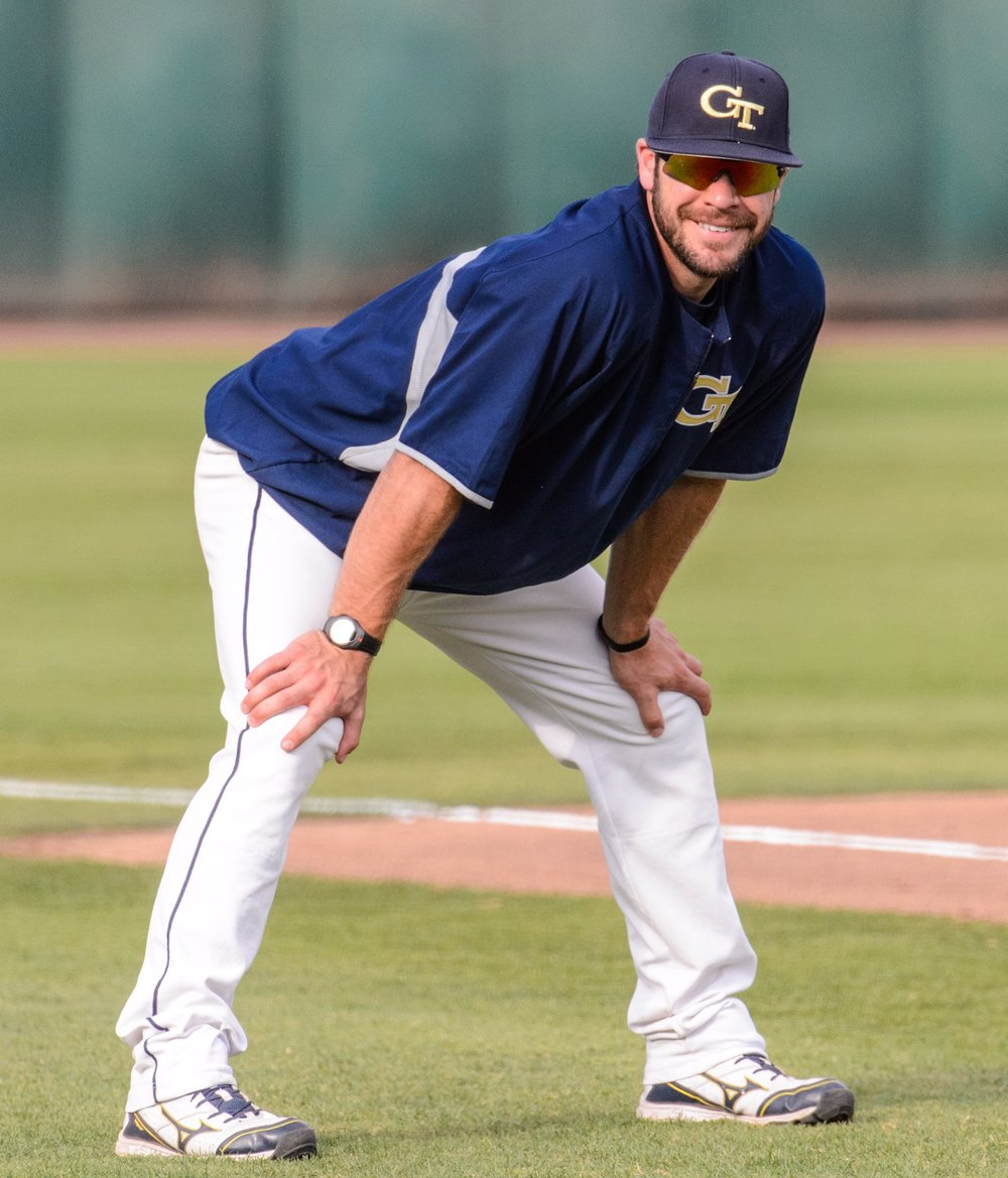 Tony Plagman - Assistant Coach Georgia Tech Baseball and former All-American