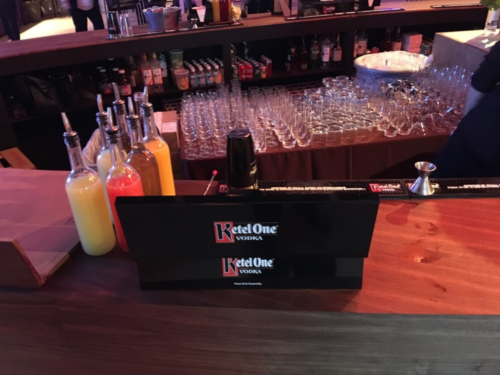 Vodka supplied by our good friends at Kettle One