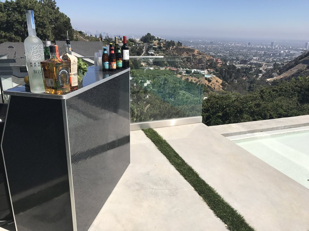 Mobile Bar Set Up- Hollywood Hills