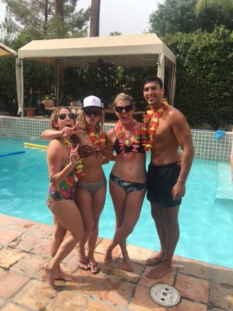 Shirtless Waiter Palm Springs
