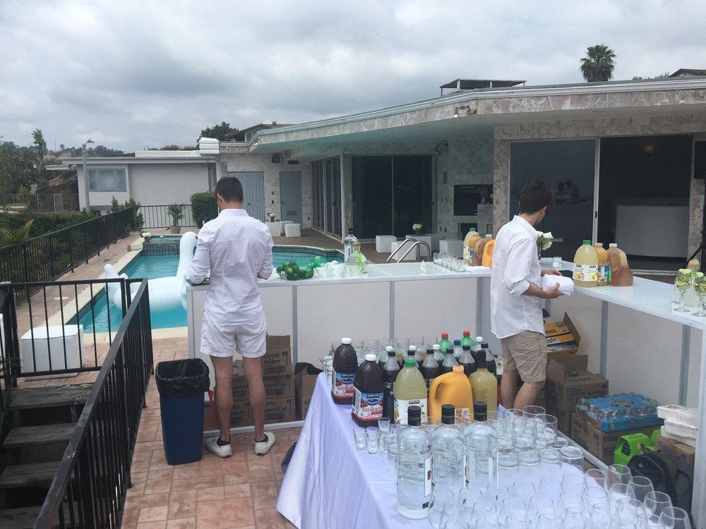 Pool party bartenders.JPG