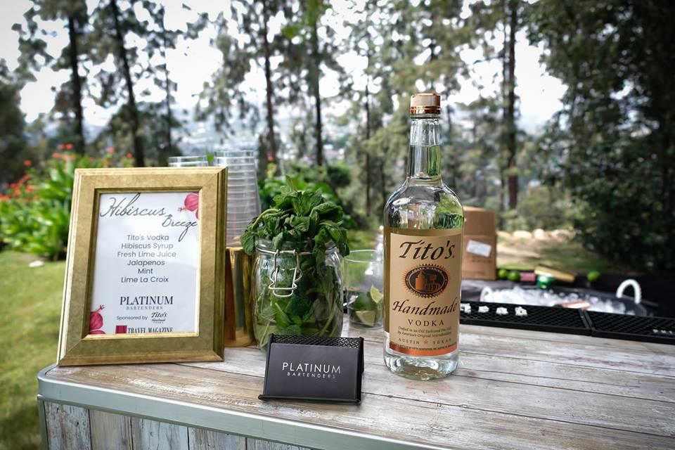 Craft Cocktail Menu by Platinum