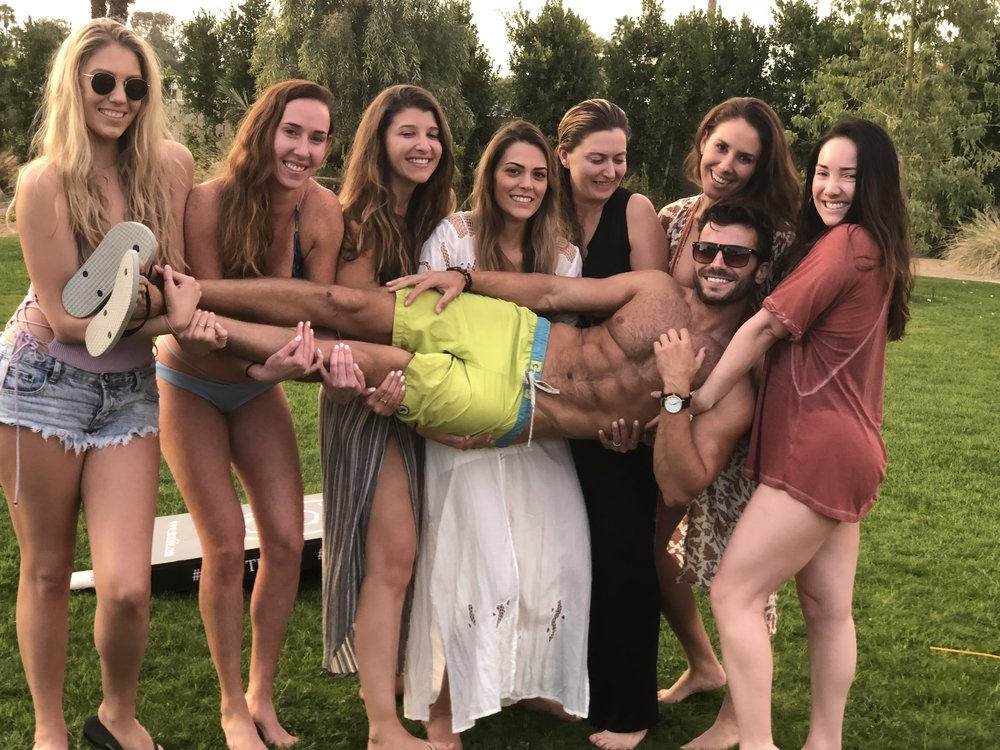 Ajdin is a hit in every bachelorette party