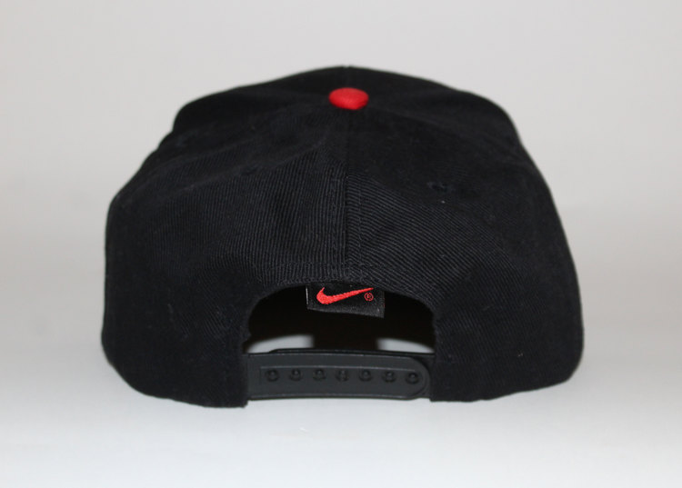 Vintage Nike Black Red Logo Hat — Roots ad30f7e0033