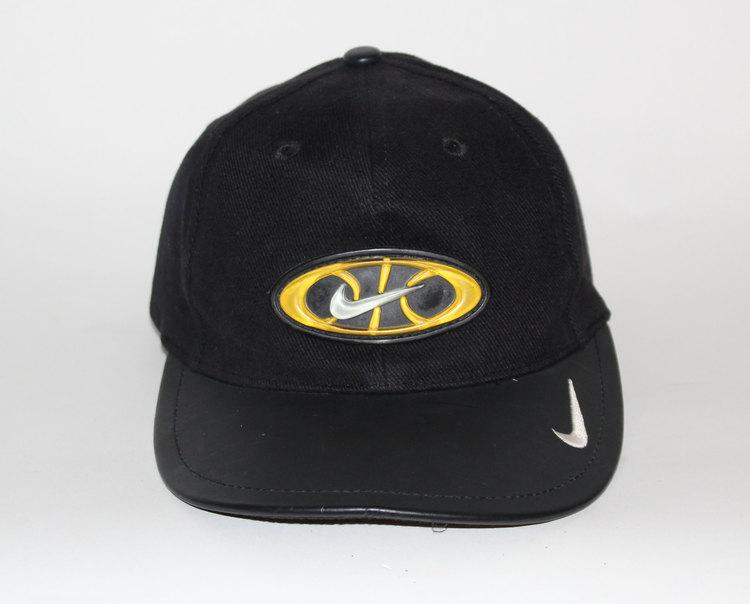 Vintage Nike Air Max Volt Basketball Leather Brim Hat — Roots 415f2ea3105
