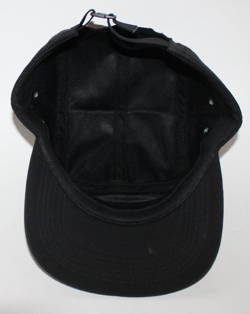 8ddedacf215 Supreme Black 5 Panel Ripstop Camp Hat F W 10 — Roots