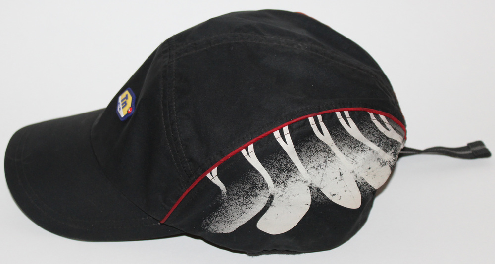 2e9a91b2255 ... best price nike tn tuned air max plus 5 panel hat black red grey u2014  roots