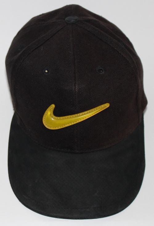 Vintage Nike Air Max Basketball Volt Swoosh Snapback Hat — Roots e9d126a929a