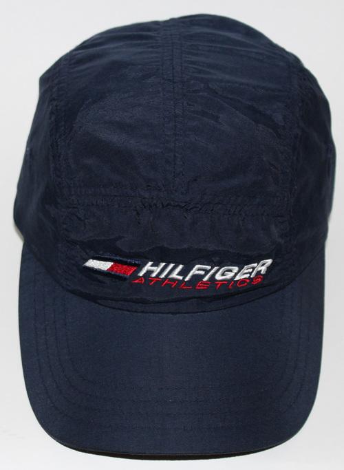 Vintage Tommy Hilfiger Athletics Navy 5 Panel Hat. hilfiger a .jpg 9442610e5b8