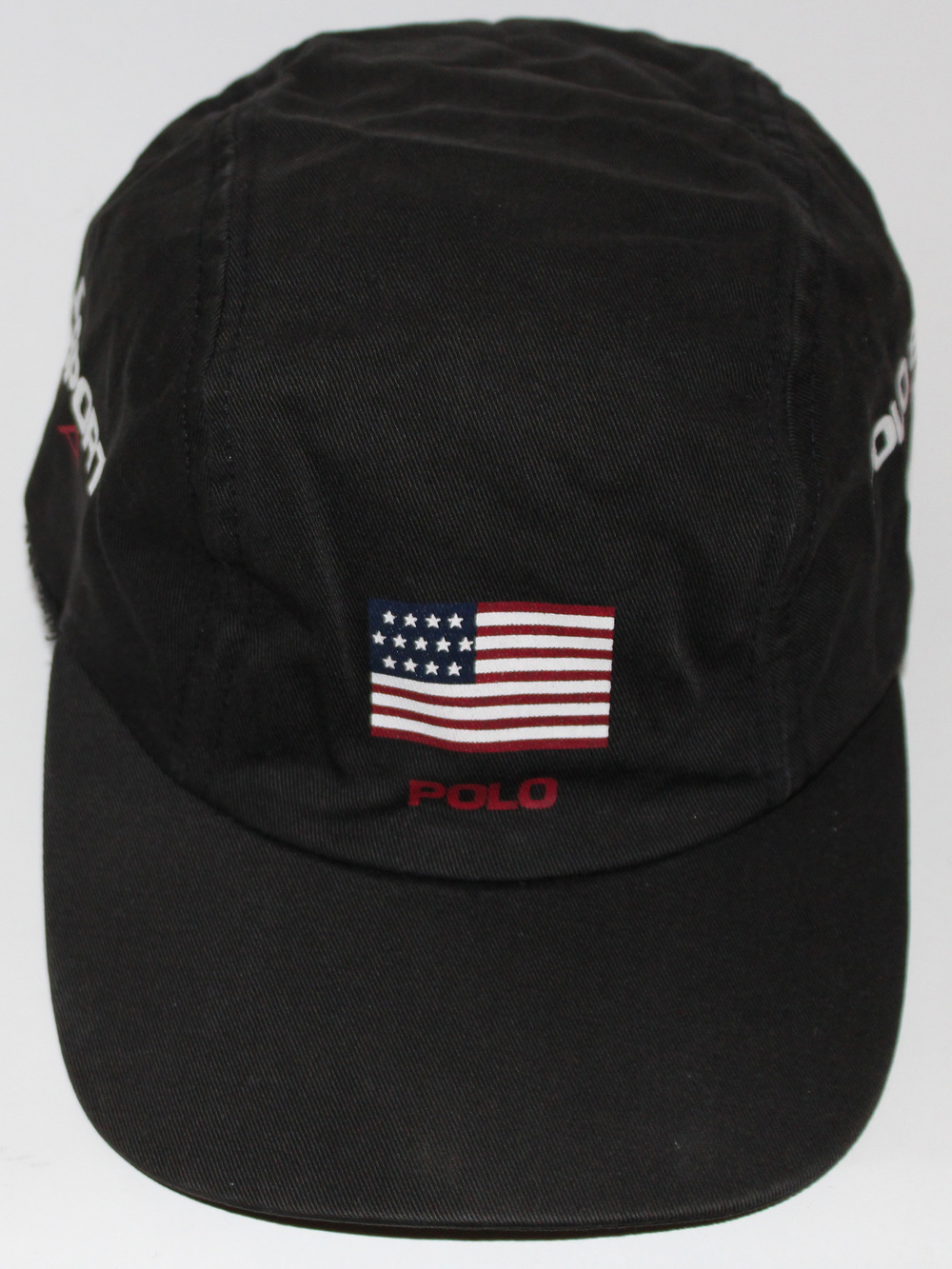 3373414ef2a Vintage Polo Sport USA Panel Cap