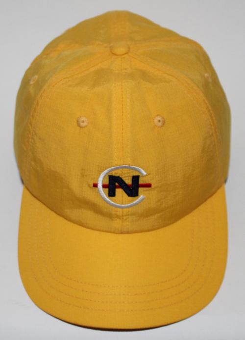 Vintage Nautica Competition Logo Yellow Nylon Hat. nauhhgh.jpg 9d071e82413