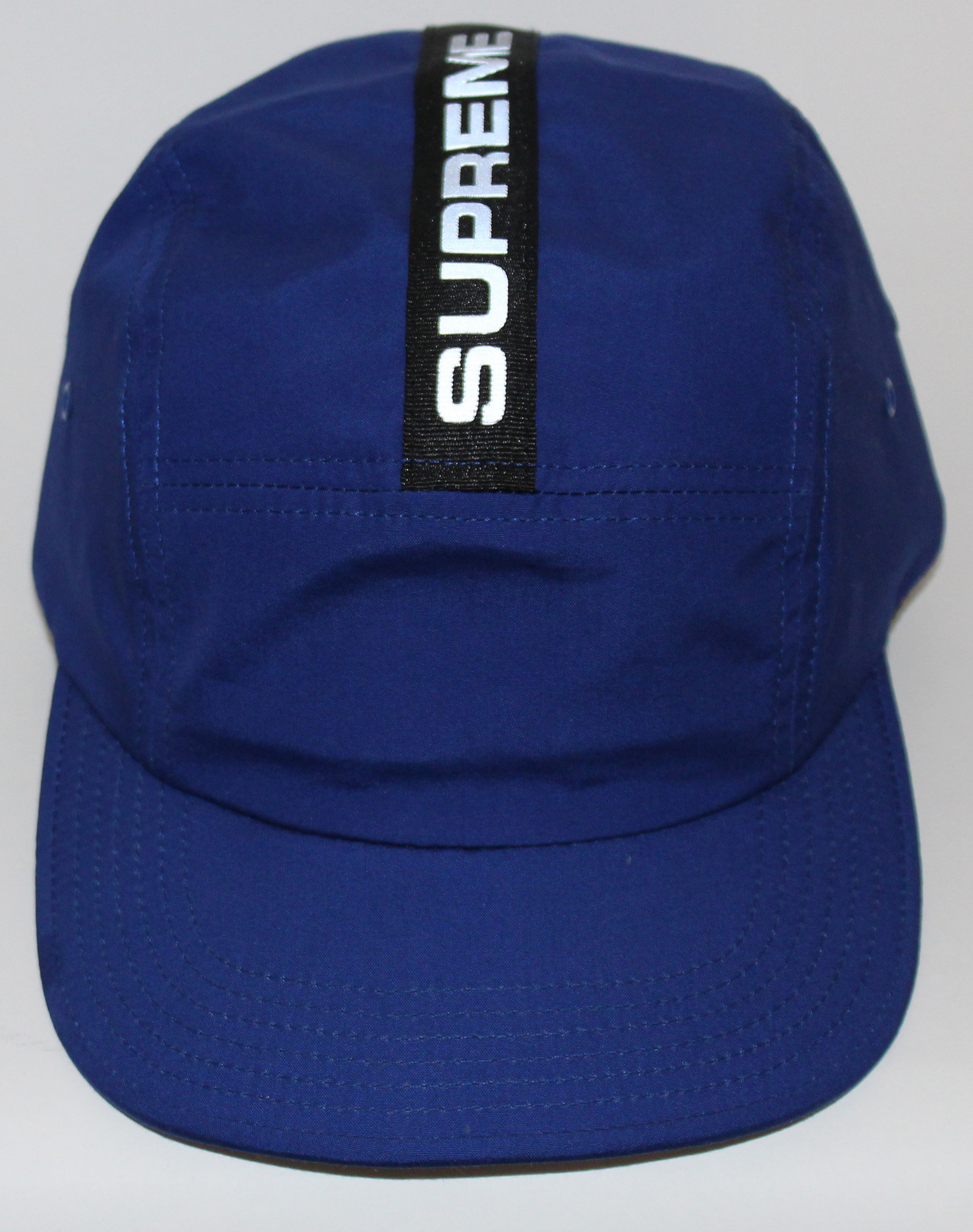 1e7e62215 Supreme Reflective 5 Panel Royal Blue Camp Hat F/W 14 — Roots