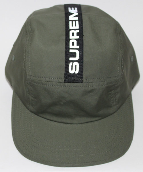 Supreme Reflective 5 Panel Olive Camp Hat NWT — Roots 75037366b41