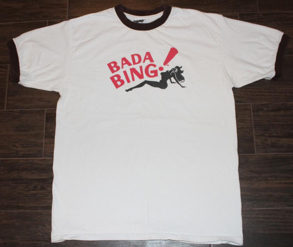 Hbo Soprano S Bada Bing T Shirt Size L Roots