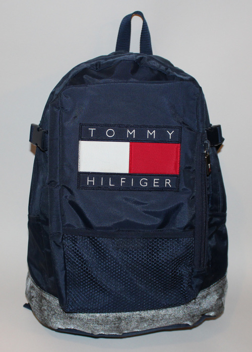 Vintage Tommy Hilfiger Big Logo 3M Book Bag — Roots