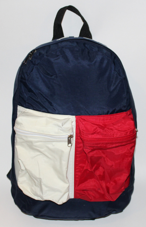 Vintage Tommy Hilfiger Big Logo Red White And Blue Book Bag — Roots