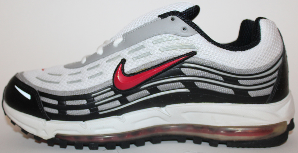 online store e3985 3de24 Nike Air Max TL 2.5 White Black Red DS (Size 9.5) — Roots