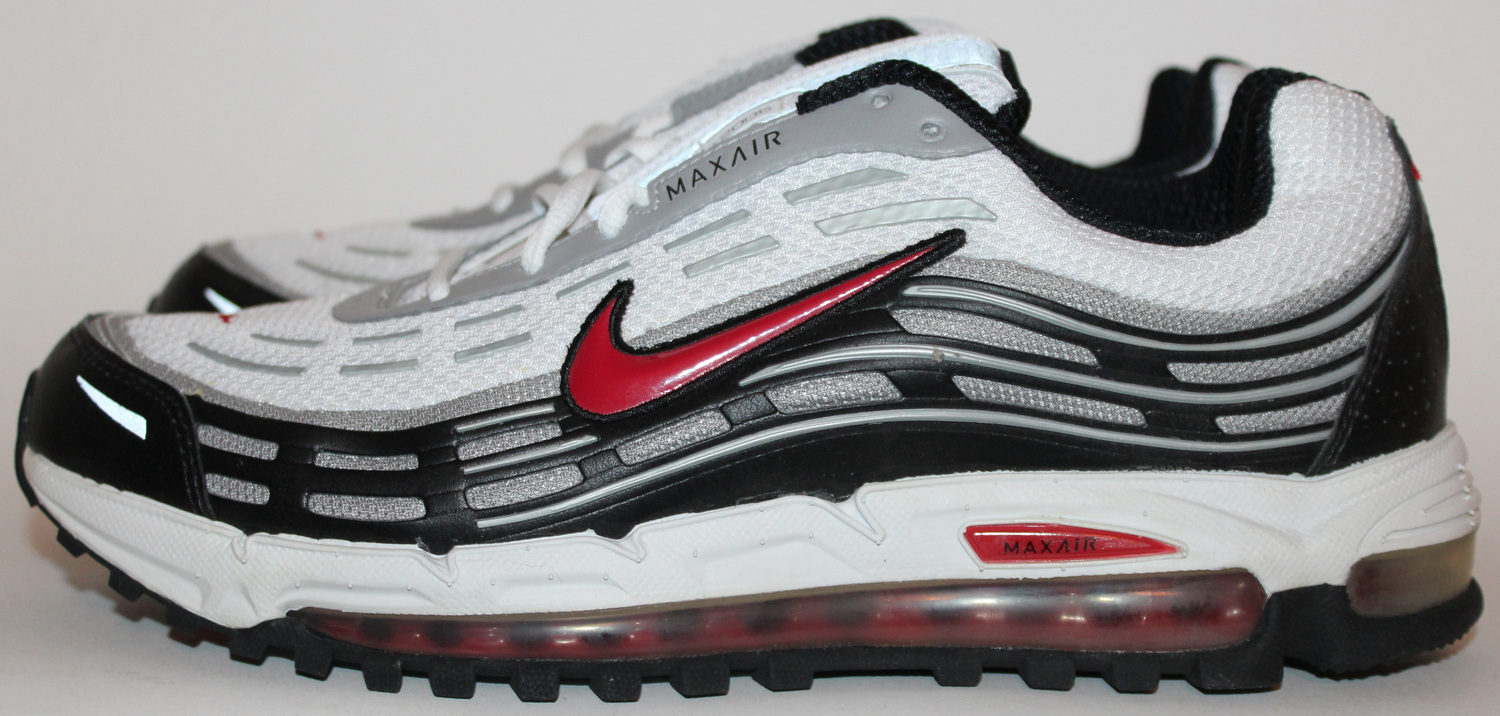 online store 6e712 10c87 Nike Air Max TL 2.5 White Black Red DS (Size 9.5) — Roots