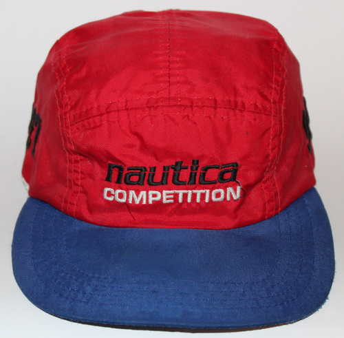 Vintage Nautica Competition 997 Red Blue 3M 5 Panel — Roots 02b9edebed3