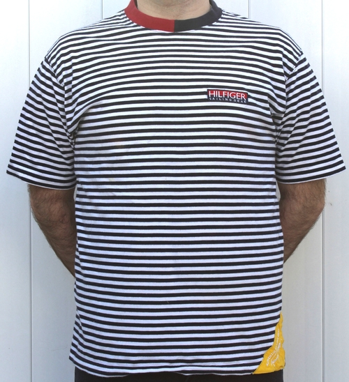 699566b87 Vintage Tommy Hilfiger Sailing Gear Striped T NWT (Size L).  TH-Stiped-Sailing-gear-t-shirt-front.jpg