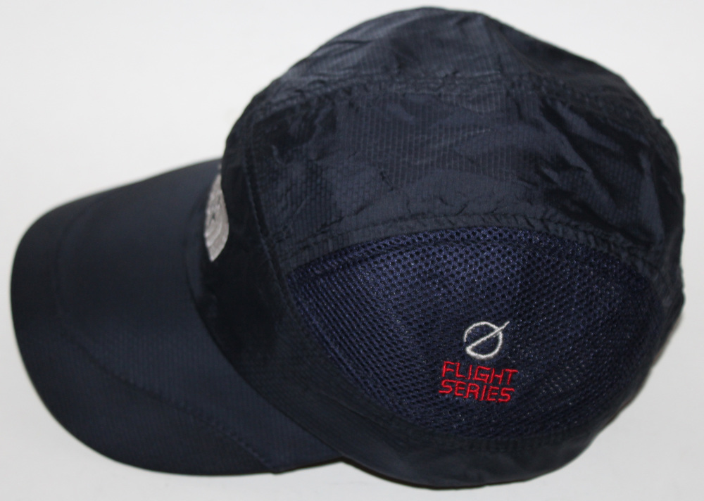 3ff69760eee The North Face Flight Series Navy 5 Panel Mesh Hat — Roots