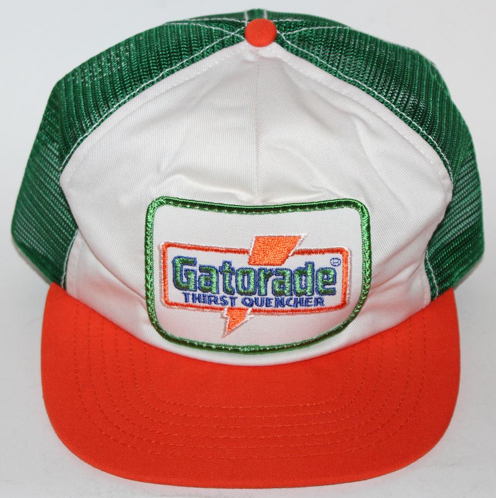 50% off vintage gatorade thirst quencher trucker snapback hat ea90d 4a50f 7cc47b62167f