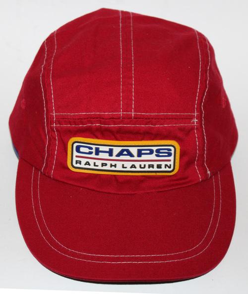 1d32a8c49e669e Vintage Chaps Ralph Lauren Red 5 Panel Hat. chaps 1 .jpg