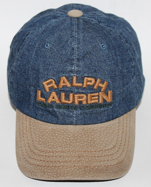 f368777657c Vintage Polo Ralph Lauren Denim Embroidered Hat — Roots
