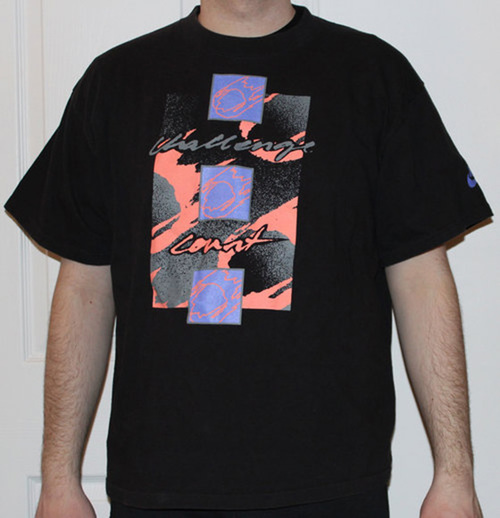 aeb6e9e2 Vintage Nike Challenge Court Andre Agassi Graphic T Shirt (Size L). nike -court-black-graphic-tee-1.jpg