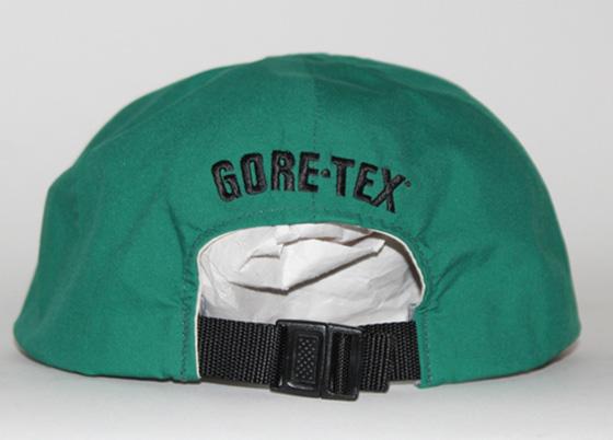 Vintage North Face Goretex Green Softbill 6 Panel Cap — Roots efb7969880fe